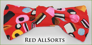 KocoKookie Bow Tie - Red All Sorts