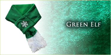 KocoKookie Dog Scarf - Christmas Green Elf